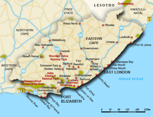 Image result for adelaide eastern cape map